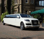 Audi Q7 Limo in Newton le Willows
