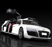 Audi R8 Limo Hire in Ashby de la Zouch