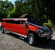 Hummer Limos in Redenhall with Harleston
