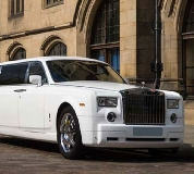Rolls Royce Phantom Limo in Penarth