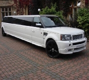 Range Rover Limo in Newton le Willows
