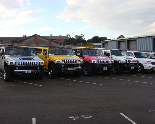 Jeep Limos and 4x4 Limos in London & UK