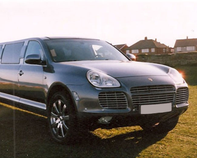Porsche Cayenne Limos in London & UK